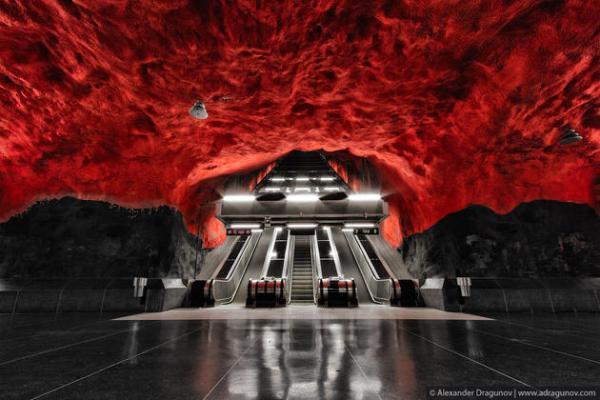 Stockholm Subway - Art